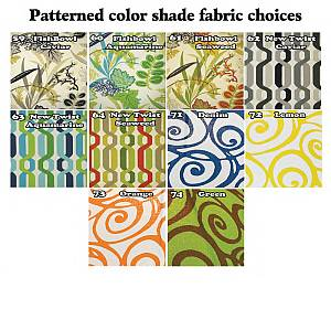 Pattern Lamp Shade Fabric Colors