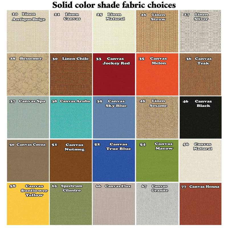 Replacement Sunbrella Fabric Covers for Patio Living Concepts ...