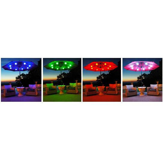 Led String Lights 12 Globes Electric Color Changing With Remote