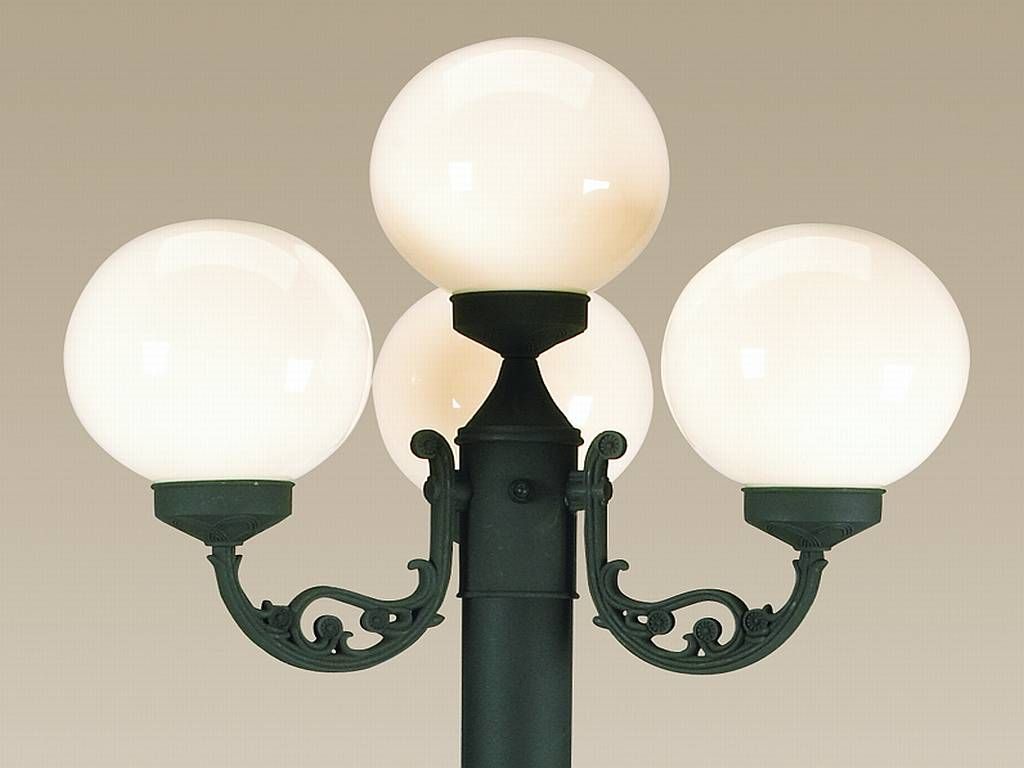 Replacement Globes For European Four Light Patio Lanterns