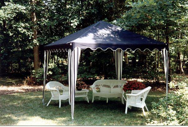 Garden Oasis Extra Large Garden Canopy With Screen Shade Canopies