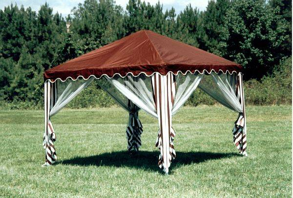 Portable Shade Canopy - 10x10 & Garden Party Canopy - 10ft Square Portable Shade