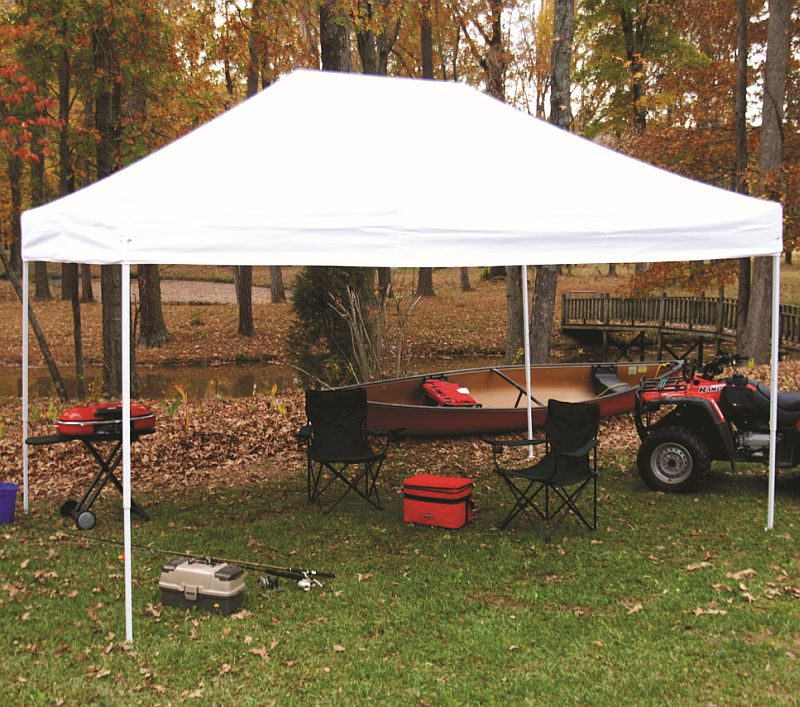 how to set up a canopy by yourself