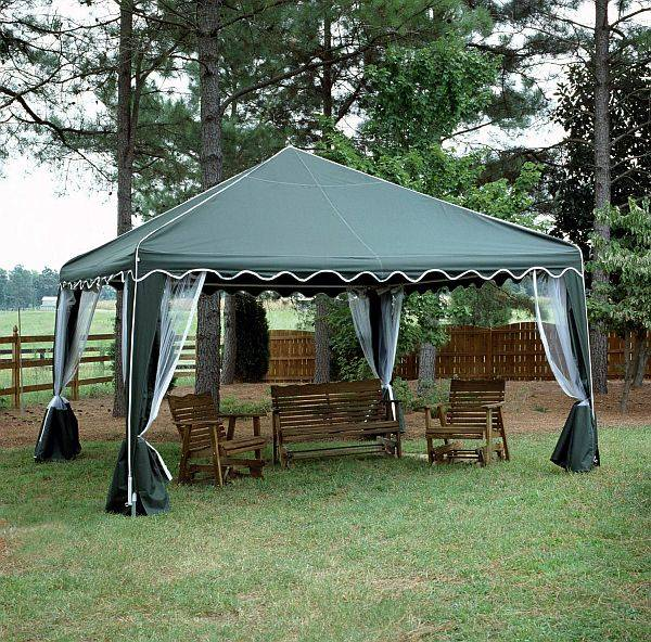 garden party awning It also gives you the decoration according to the