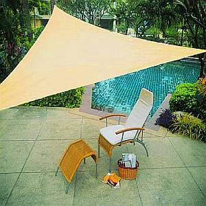 Sun Shade Sail - Triangle - 10 Foot - PC-20000-10