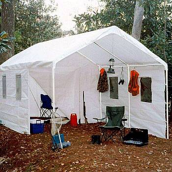 10ft x 20ft Universal Enclosed Shade Canopy & Portable Shade Canopies Sails and Other Shading Structures