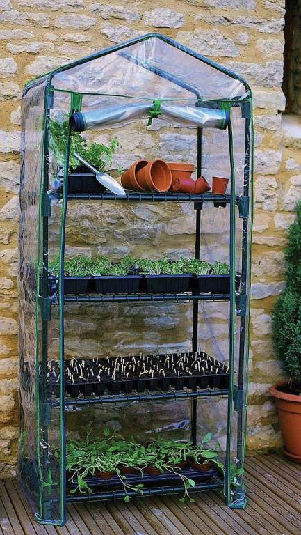 4 Tier Mini Greenhouse R687