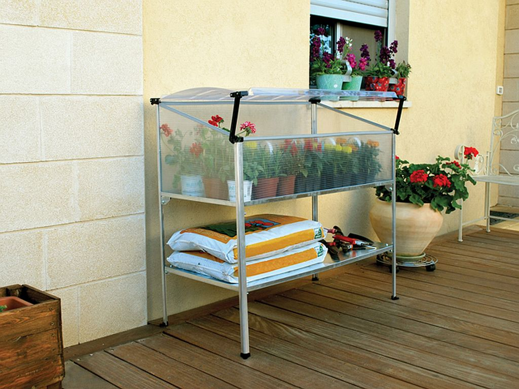 mini greenhouse kits give you gardening power in tight spaces