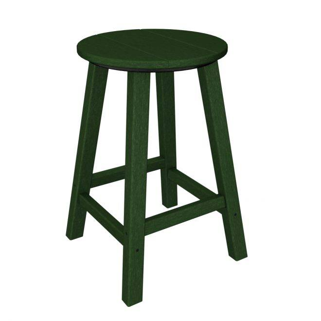 Counter Height Outdoor Stools : ... Counter Height Bar Stool - Recycled Outdoor Furniture - 2BAR224