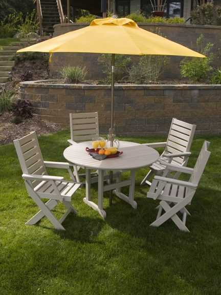 Captain s Dining Chair Recycled Outdoor Furniture CC4423