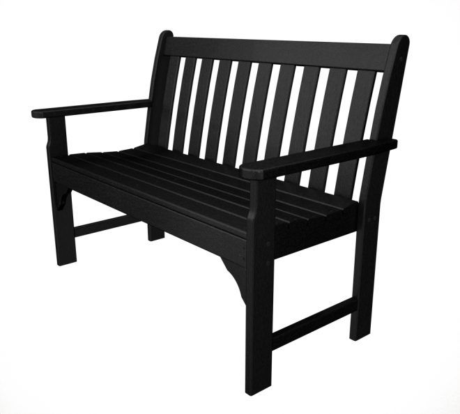 Vineyard Garden Bench Recycled Outdoor Furniture Gnb48 60
