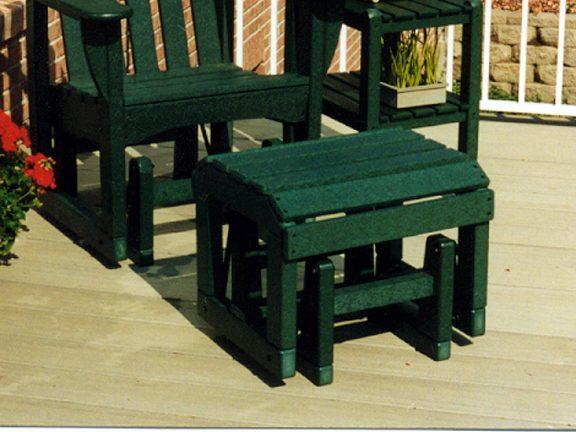Polywood Ottoman Otgl For Adirondack Glider Chair Recycled