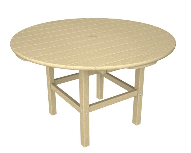 38in Round Kids Dining Table Recycled Outdoor Furniture