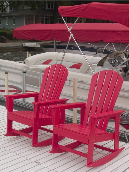Polywood South Beach Rocker Sbr16 Recycled Outdoor