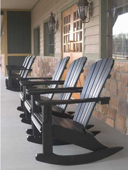 Seashell Rocker Recycled Outdoor Furniture SHR22