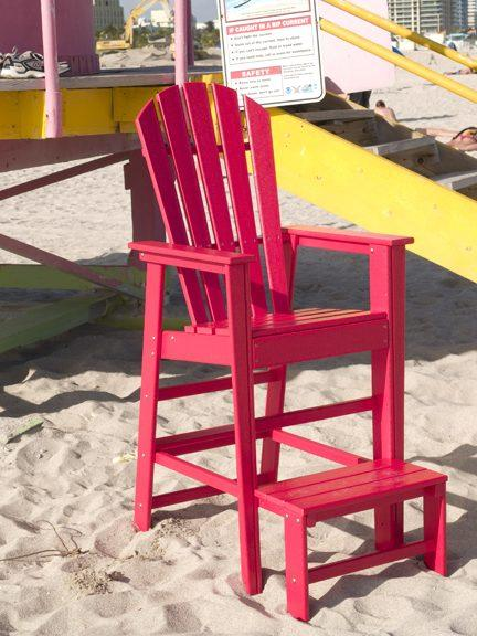 Life Guard Chair Sbl30 Polywood South Beach Collection