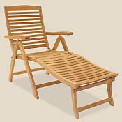 Admiral Reclining Chair & Footrest