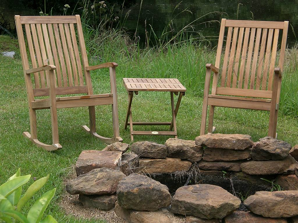 Highback Rocking Chair