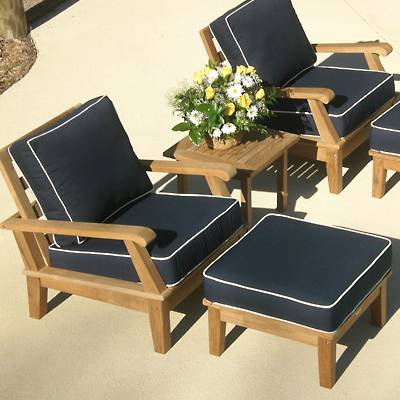 Patio Furniture Chairs On Furniture Teak Patio Furniture Miami Chairs With  Ottoman