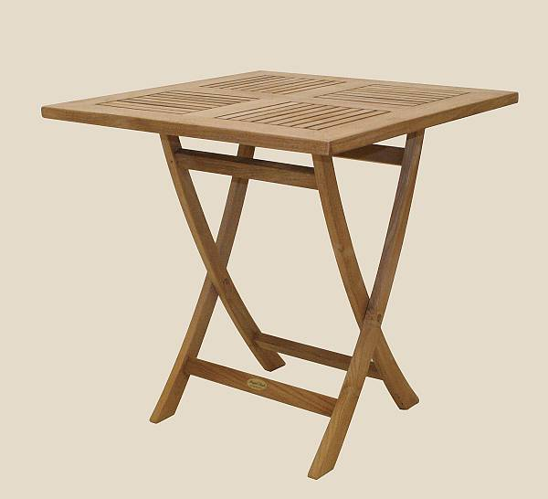 Sailor Medium Square Folding Table (Click For Larger View)