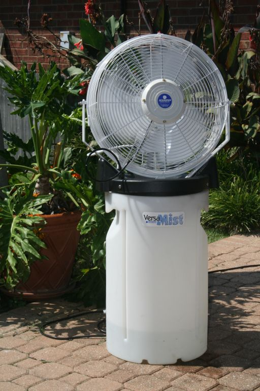 VersaMist Outdoor Fan (Click To Enlarge)