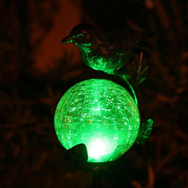 Aquarius Birdbath Solar Stake Light - 3058MRM1