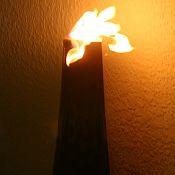 Calatrava Zinc Patio Firepot