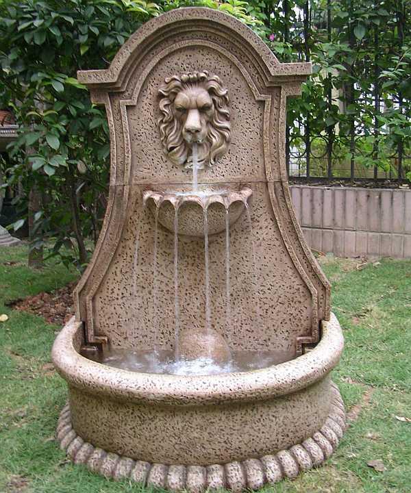 Lucerne Lion S Head Electric Fountain 46201