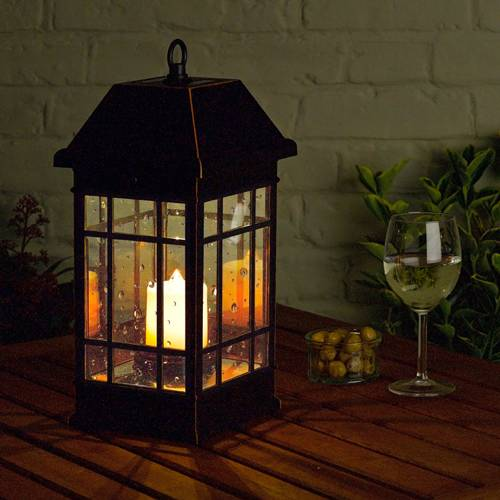 Backyard Lights Solar : ii solar mission lantern 3960kr1 solar powered outdoor lighting tweet