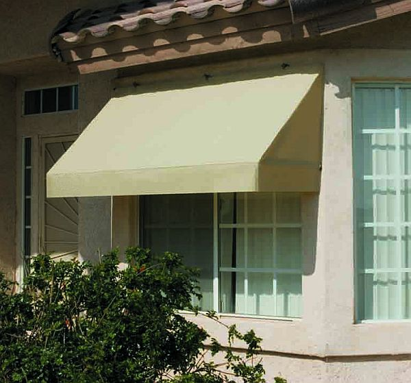 Classic retractable canvas window awning 8ft relacement cover ssp replacement canopy - Canvas canopy ...