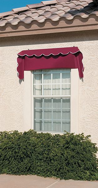 8ft Classic Retractable Window Awnings