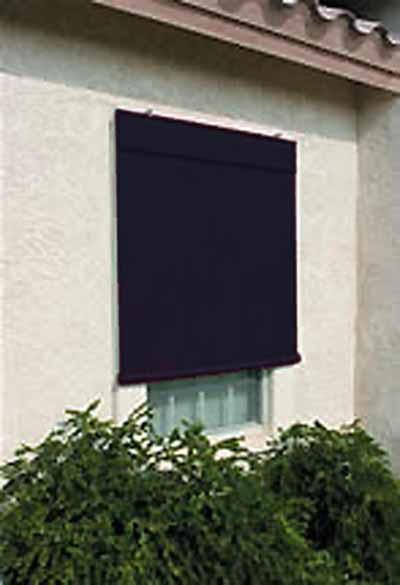 Sunsational Exterior Solar Shades   8ft X 6ft Black