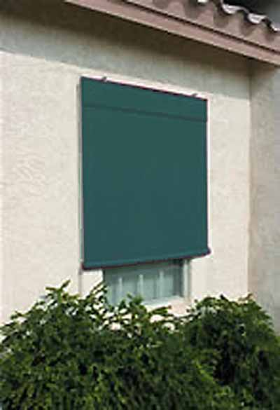 Sunsational Exterior Solar Shades 6ft X 6ft Forest Green