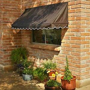 canvas window awnings external retractable canvas awnings window