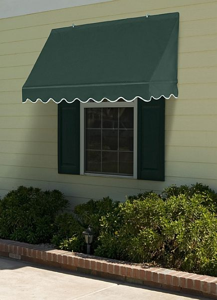 Traditional Retractable Canvas Window Awning 4ft Relacement Cover