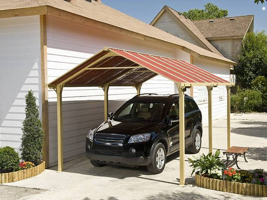Car Canopy Wood : Images about carports on pinterest carport plans