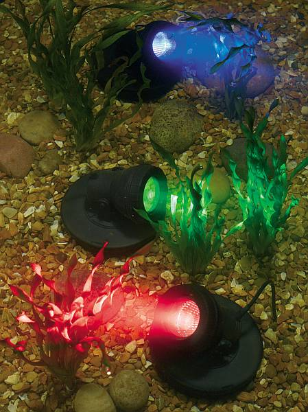 Underwater Triple LED Spot Lights - Set of 3 - 1630