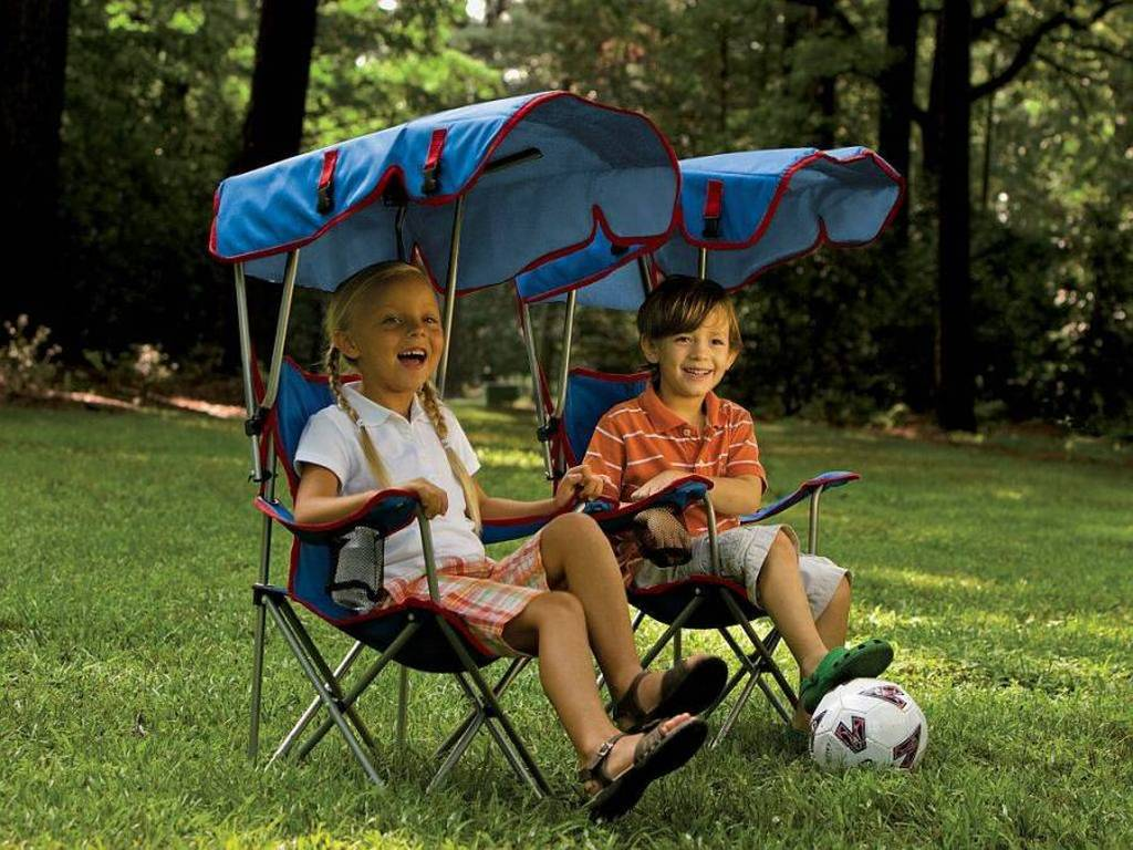 A Little Slice Of Shade For Outdoor Loving Kids Outdoor