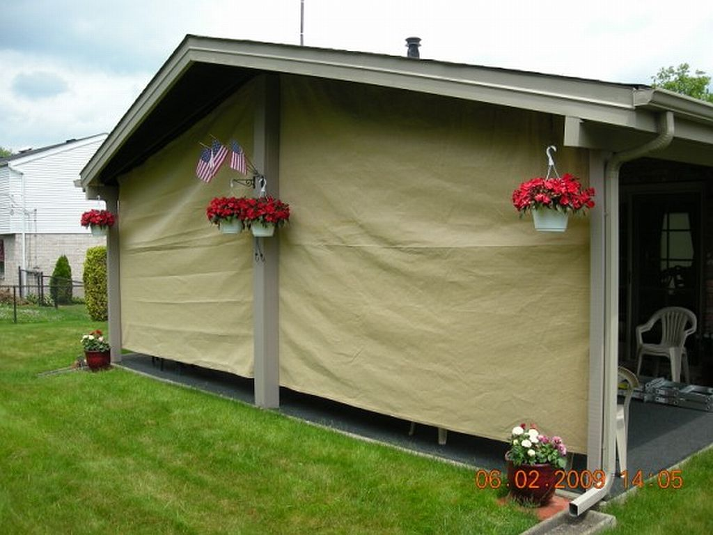Vertical Shade Panel & Custom Shade Cloth Panels / Tarps - 28 Colors for 2019
