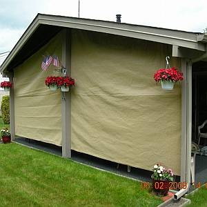 Vertical Patio Screen