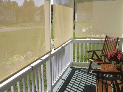 Easyshade manually operated window shades for 10 ft window blinds