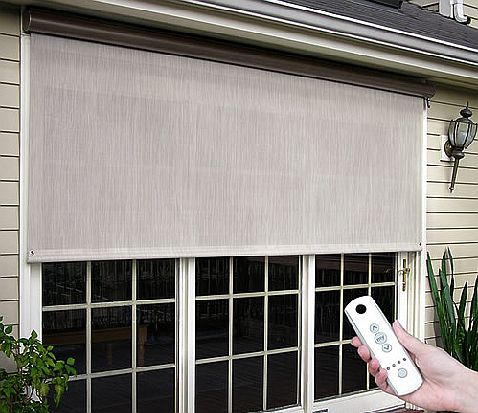 Easyshade motorized window shades for Motorized blinds shades