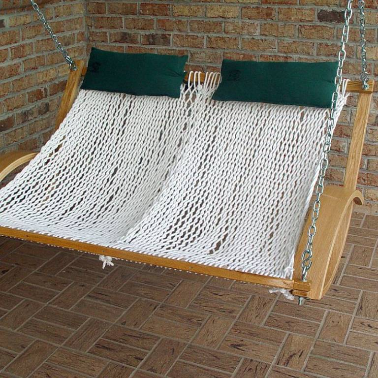 Poly Double Swing Close Large
