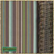 Jolene Chocolate Stripe