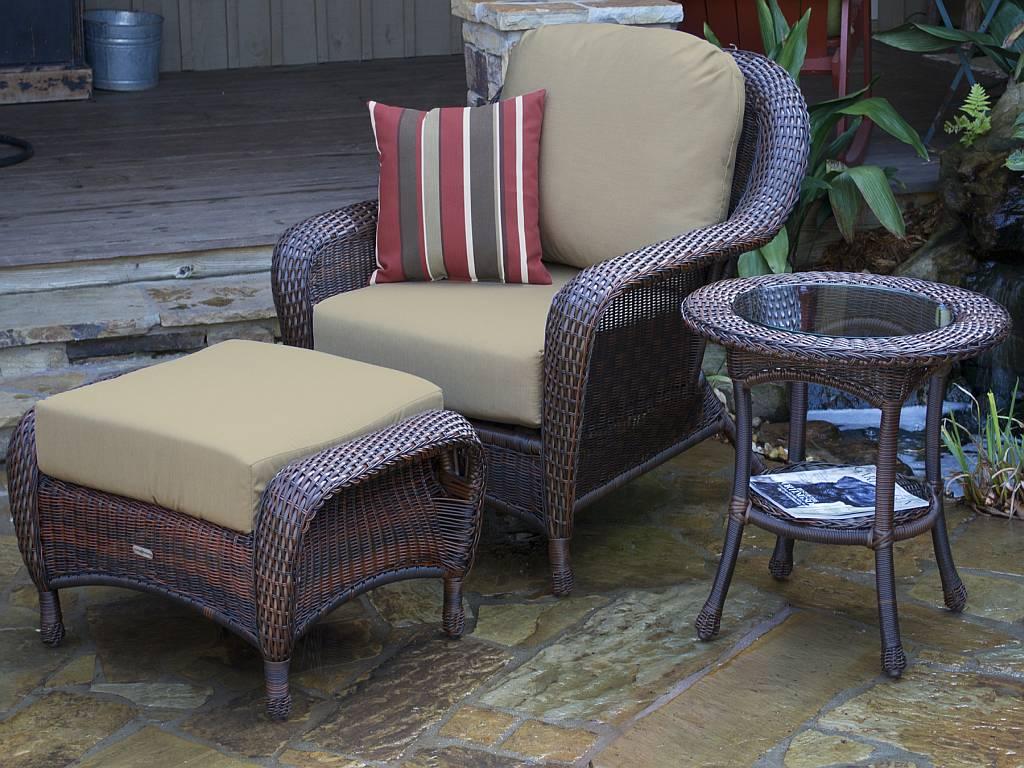 Tortuga Lexington Club Chair Ottoman End Table Lex Stco1