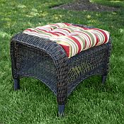 Dark Roast Lexington Ottoman
