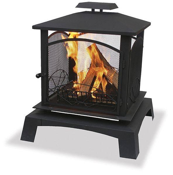 Metal Outdoor Fireplaces Doors
