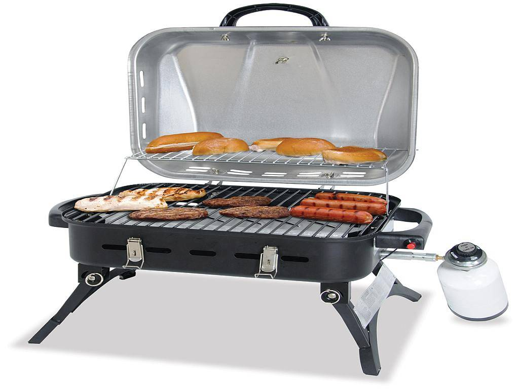 portable gas grill lp gas npg2322ss. Black Bedroom Furniture Sets. Home Design Ideas
