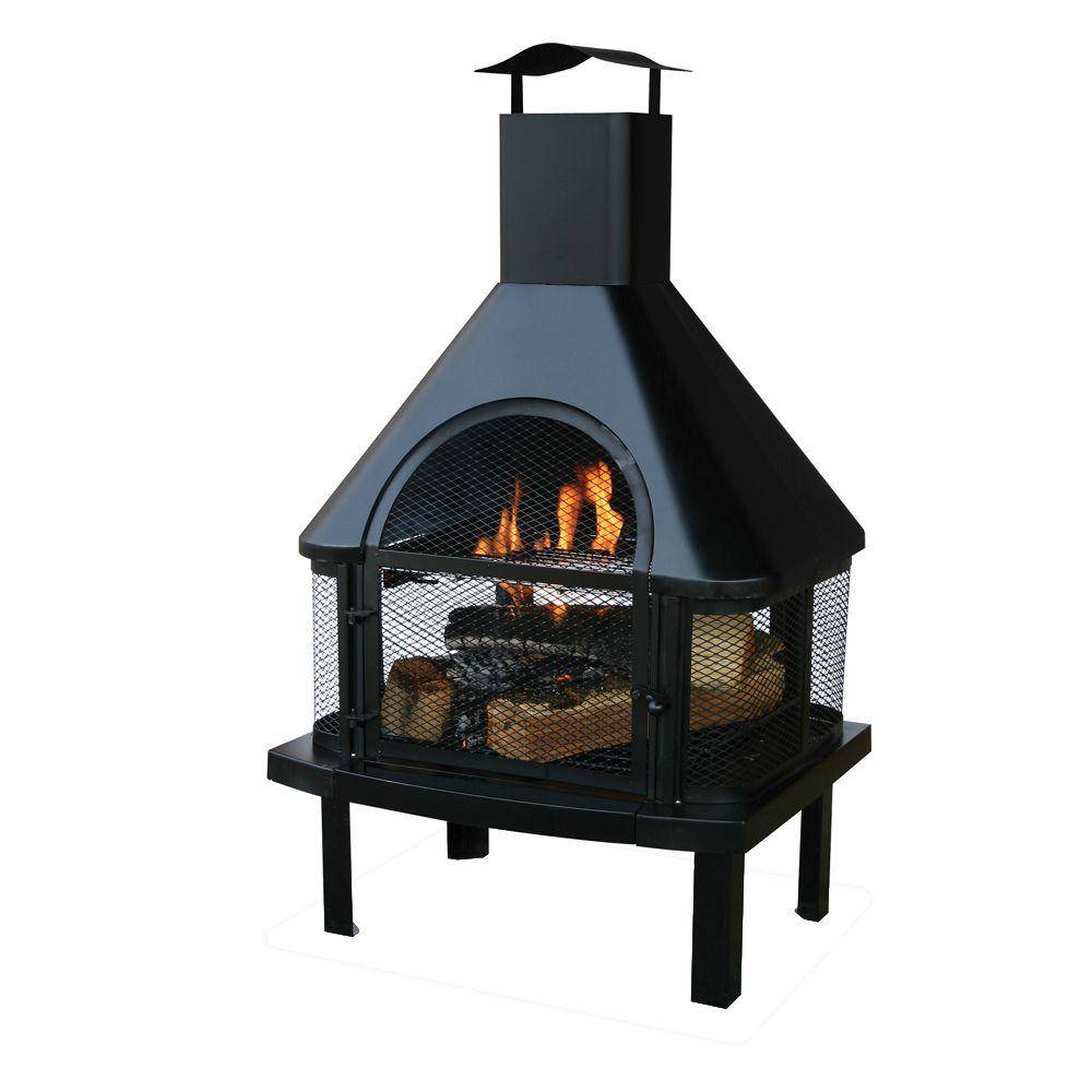 Outdoor Wood Burning Fireplace Kits images