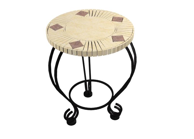 Mosaic Tile Table Kit Mosaic Ceramic Tile Table